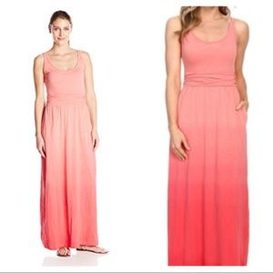 Columbia Pink Ombré Maxi Dress NWT